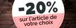 -20% sur l